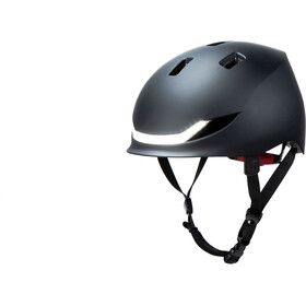 Lumos Street Helm Charcoal Black
